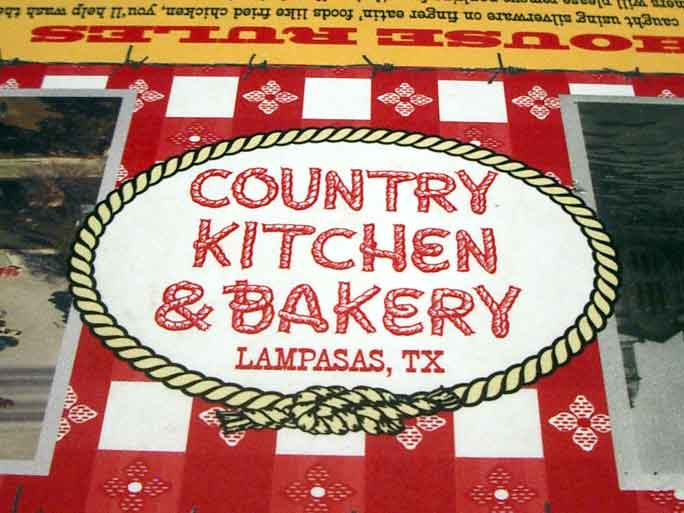 Country Kitchen Bakery Lampasas Tx